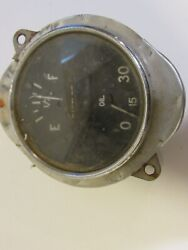Vintage Rare Fuel Combination Oil Gauge For Car Or Truck Metal Collectible