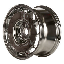 Driver Side Aluminum Wheel 16x8.5 Chrome 10 Slot 5x4.75 Bolt Pattern