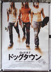 [signed] And039lords Of Dogtownand039 Catherine Hardwicke Japanese Poster + Official Loa