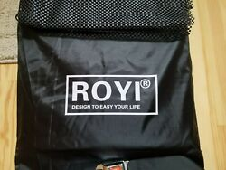 Waterproof Roof Cargo Bag 18.5 Cubic Ft Dual Seam With Heavy Duty Metal Straps