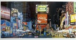 Ken Keeley Times Square The Way It Was Midori Signed Ltd Ed Serigraph Unframed