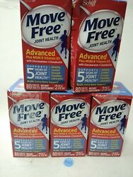 5 Move Free 400 Tablets Total Joint Health Glucosamine Exp 10/2021+