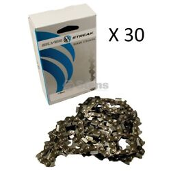30 Silver Streak Chainsaw Chains 20 Stihl Ms290, Ms291, Ms310, Ms360, Ms390