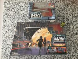 Micro Machines Star Wars The Death Star Action Fleet + Y-wing Fighter New