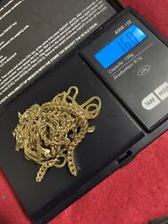 10kt Yellow Gold Mix Lot Scrap Or Wear 22.7 Grams More Than 9 Pieces