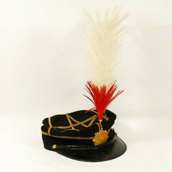 Imperial Japanese Army Ija Officer's Hat And Maetate For Full-dress Uniform 57cm