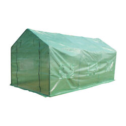 Greenhouse 15'x7'x7' Large Portable Walk-in Hot Green House Plant Gardening