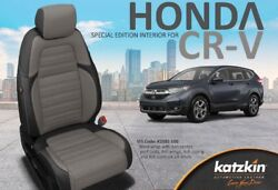 2017-2021 Honda Crv Cr-v Lx Katzkin Special Ed. Leather Replacement Seat Covers