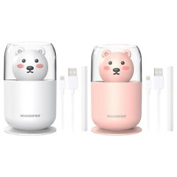 Ultrasonic Quiet Ultra Quiet Portable Air Humidifier Night Light For Babies