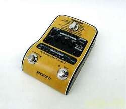 Zoom Ac-2 Acoustic Preamp Effects Pedal Ships Safely From Japan