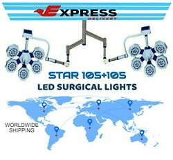 Ot Led Surgical Light Double Satellite Lights Operation Theater Suspension Arm@