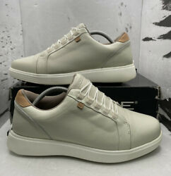 Zerotie Leather Golf Shoes Menand039s Size 10 Backswing Blucher Classic Beige Mas-97