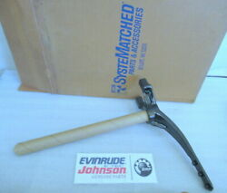 E1a Evinrude Johnson Omc 0437698 Steering Arm Assembly Oem New Factory Boat Part