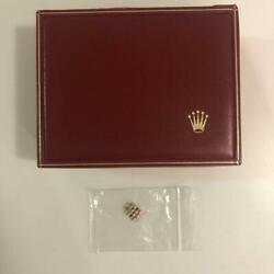 Rolex Empty Box Wine Red Watch Piece Beautiful Fashionable Authentic