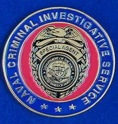 Us Naval Criminal Investigative Service New Orleans Special Agent Challenge Coin