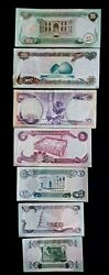 Iraqi Dinar. Currency. Uncirculated Middle East Money. Desert Sheild/ Storm