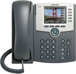 Cisco Spa525g2 5-line Ip Phone With Color Display New