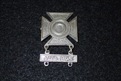 Wwii Us Army Sharpshooter Badge Auto Rifle Q Qualification Bar Theater Made Rare