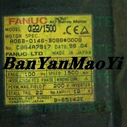 Fedex Dhl Used Fanuc A06b-0146-b0880008 Tested In Good Condition Fast Ship