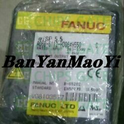 Fedex Dhl Used Fanuc A06b-6112-h006h550 Tested In Good Condition Fast Ship