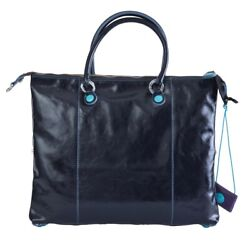 Bag Gabs Luna G3 Plus Size M Convertible Shopping Bag Made In Italy Leather B