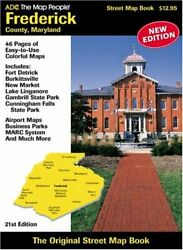 Acd's Street Atlas Of Frederick County Maryland By Map People Adc