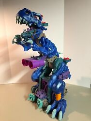 Fisher-price Imaginext Ultra Ice Blue T-rex Dinosaur Sounds And Lights Donandrsquot Work