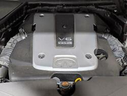2014 Infiniti Q50 Engine With 51008 Miles 3.7l Sport Without Upper And Lower Pans