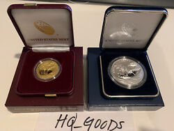 2020 - End Of World War Ii 75th Anniversary 24-karat Gold Coin And Silver Medal