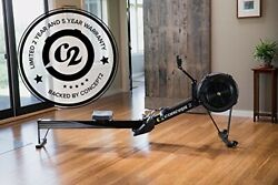 Brand New Boxed Concept2 Black Model D Rowing Machine Pm5 Console And Phone Cradle