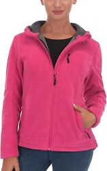 Little Donkey Andy Womenand039s Lightweight Hooded Fleece Jackets For Hiking Travelli