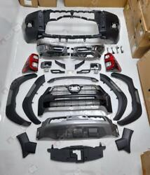 Upgrade Body Kit Rocco 2021 For Toyota Hilux 2016-2020 Conversion Facelift