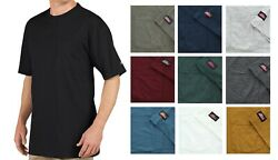 Menand039s T-shirt Short Sleeve Long Length Lightweight Cool And Dry Pocket Tee