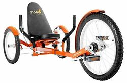 Mobo Triton Pro Adult Tricycle For Men Women. Beach Cruiser Trike. Pedal 3-whe