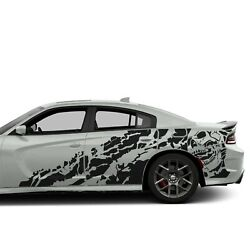 Sticker For Dodge Charger Side Scat Pack Nightmare Design Vinyl Graphics Decal