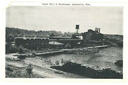 Paper Mill And Warehouse In Ladysmith, Wisconsin Postcard