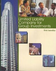 Limited Liability Company For Group Investments By Fred Crane Excellent