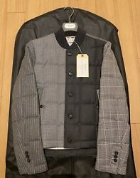 Rare Thom Browne Funmix Down Jacket - Of Wales Check - New With Tags