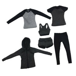 1/6 Scale Female Sportswear Outfits For 12 Inch Action Figures