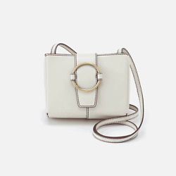 Hobo Women#x27;s ELAN Crossbody Bag Color Rio Latte or Lemongrass $99.00