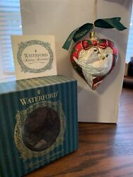 Waterford Holiday Heirlooms 12 Days Of Christmas Turtledove Ornament