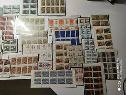 Canada Much Mnh Stamp Plate Imprint Block Collection High Value