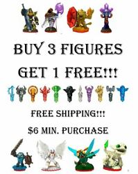 Skylanders Trap Team Figures And Traps Pick Your Figures Buy 3 Get 1 Free