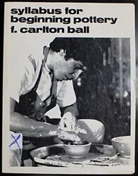 Syllabus For Beginning Pottery By F. Carlton Ball