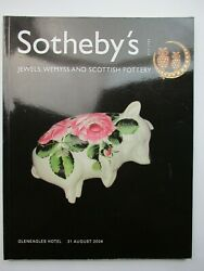 Sotheby's Auction Catalogue - Jewels, Wemyss And Scottish Pottery 2004
