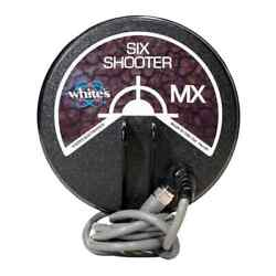 Whites Mx Six Shooter 6 Concentric Coil Metal Detector Coil Loop 802-3266-1