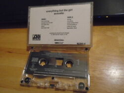 Rare Promo Everything But The Girl Cassette Tape Acoustic 1992 Cyndi Lauper Covr