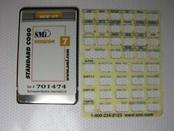 Smi Sce V7 Standard Cogo Card Version 7 Overlay And Manual For The Hp 48gx