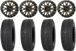 System 3 St-3 Bronze 15 Wheels 33 X Comp At Tires Can-am Renegade Outlander
