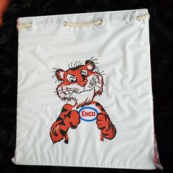 Vintage Enco Esso Humble Oil Tiger Inflatable Bag 60and039s/70and039s Advertising Giveaway